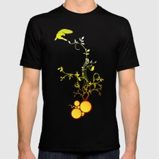 Life Black SMALL Mens Fitted Tee