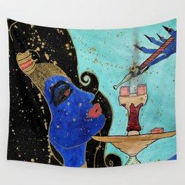 The Hookah Jinn Wall Tapestry