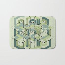 Hexagons #01 Bath Mat