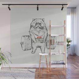 Cat Lift Wall Mural