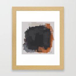 No classic painting autumn Framed Art Print