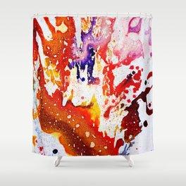 Polychromoptic #1A Shower Curtain