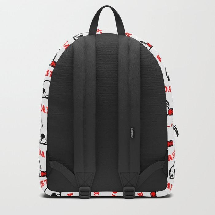 Rest Day Pug Backpack