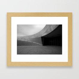 open circle Framed Art Print