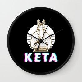 Ketamine Keta Druffi Horse For Spicker And Wall Clock