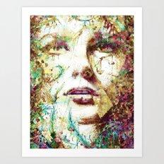 Mirada Persa Art Print