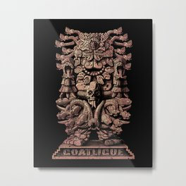 Coatlicue Metal Print