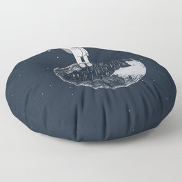 Salutation from Earth Floor Pillow