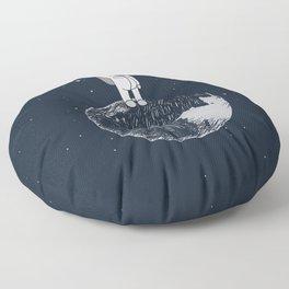 Salutation from Earth Floor Pillow