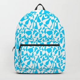 blue abstraction 3 – abstraction,abstract,minimalism,cerulean, bluish,reverie Backpack