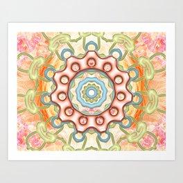 Firenze Mandala Art Print