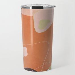Modern minimal forms 25 Travel Mug