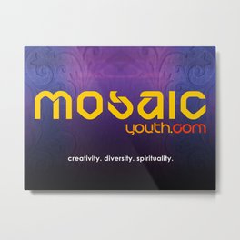 MOSAIC youth Metal Print