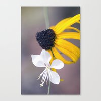 friendship Canvas Prints featuring Friendship by Laura George