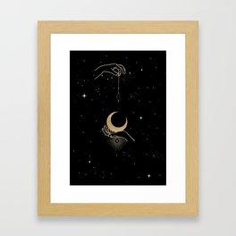 Lantern in the Moonlight Framed Art Print