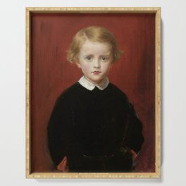 """John Everett Millais """"John Wycliffe Taylor, at the age of five"""" Serving Tray"""