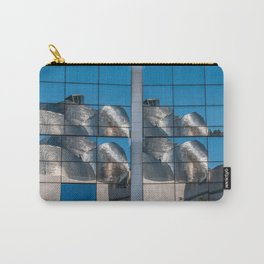 Reflection of Guggemheim Carry-All Pouch