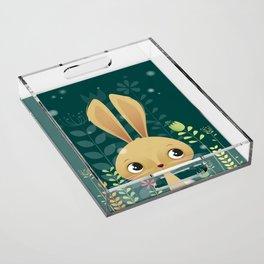 Bunny! Acrylic Tray