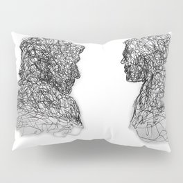Your Father Would be Proud Line Art Pillow Sham