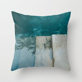 The Floating blue city - Venice, Italy architecture photography   Framed art print Throw Pillow