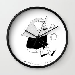 The Unemployed - Monni Wall Clock