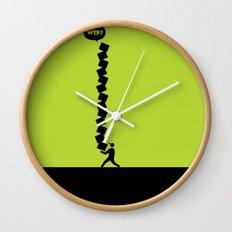 WTF? Cajas! Wall Clock