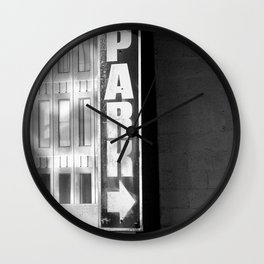 Park Wall Clock