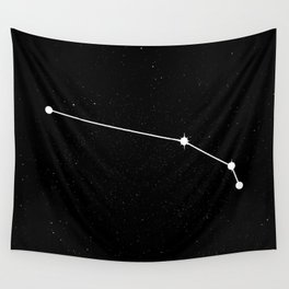ARIES (BLACK & WHITE) Wall Tapestry