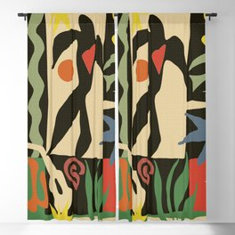Inspired to Matisse (vintage) Blackout Curtain