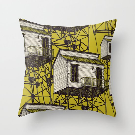 It Takes Me Down. Part Two Throw Pillow
