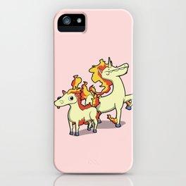 Pokémon - Number 77 & 78 iPhone Case