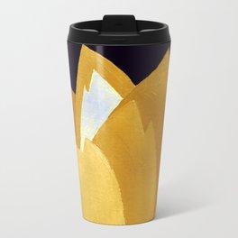 Gold and Silver Travel Mug