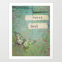 Gypsy Soul Art Print