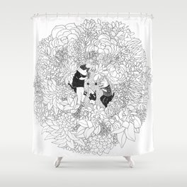 Quiet Family Time Shower Curtain