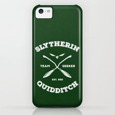 Slytherin Quidditch Team Seeker: Green iPhone 5c Slim Case