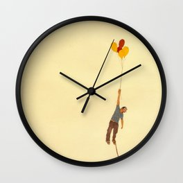 attempt to fly Wall Clock