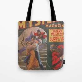 Dime Mystery Magazine – May 1941 Tote Bag