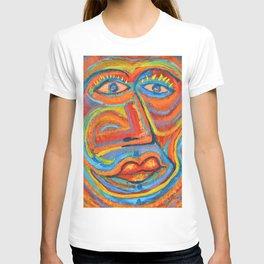 Retrato Seria pasión T-shirt