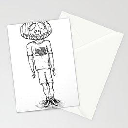 Happy Halloween (B & W) Stationery Cards