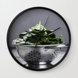 spinach Wall Clock