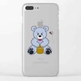 Hunny Bear Clear iPhone Case