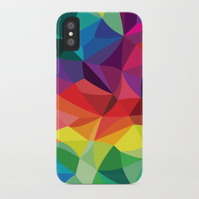 Color Shards iPhone Case