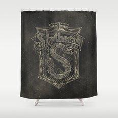 Slytherin House Shower Curtain