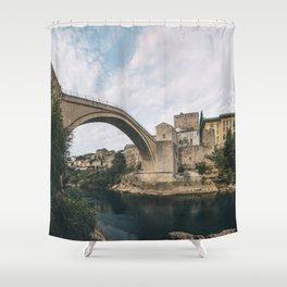 Mostar, Bosnia and Herzegovina Shower Curtain