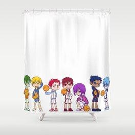 Kuroko no Basket Shower Curtain