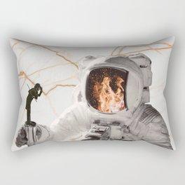 Fuego-naut Rectangular Pillow