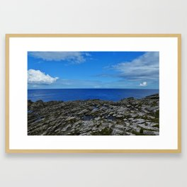 Cliffs of the Eagles Framed Art Print