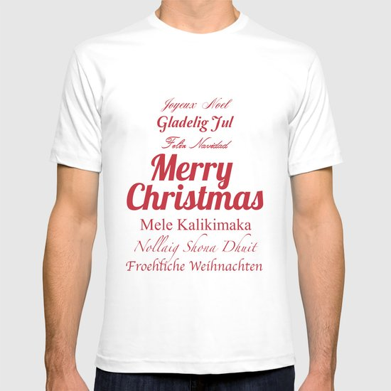 Merry Christmas Many Times Over 2 T-shirt