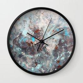 Mistral Breeze - Original Abstract Art by Vinn Wong Wall Clock