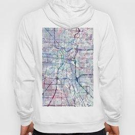 San Antonio map Hoody